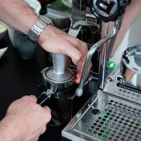 Siebträger Kaffeemaschine_Kaffee machen