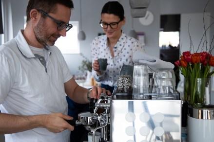 Siebträger Kaffeemaschine_Kaffee Date