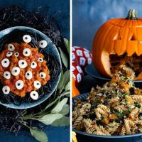 2 Halloween Rezepte mit Nudeln oder Halloween auf die Nudel gebracht