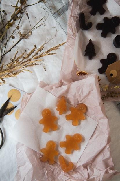 Adventkalender Fruchtgummis Rezept