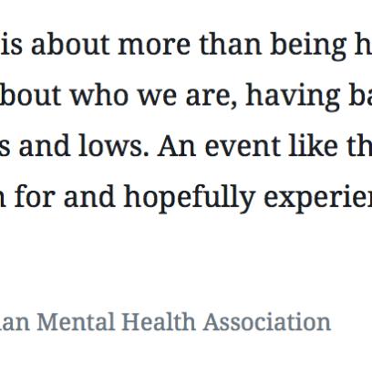 Jan. 30 event tackles depression