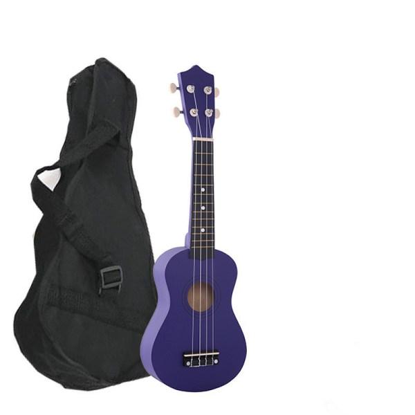 Укулеле (Гавайская гитара) темно-фиолетовый