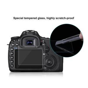 Фирменное противоударное стекло премиум класса  Puluz пленка  для Canon EOS 6D Защитный экран 0.3mm  9H 2.5D