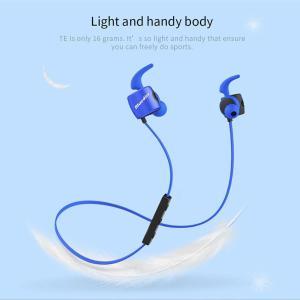 Беспроводные Bluetooth наушники гарнитура Bluedio TE Blue  Синий ОРИГИНАЛ