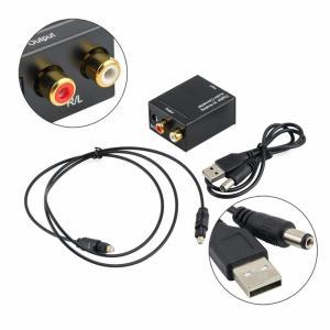 Цифро-аналоговый аудио конвертер  SPDIF аудио  декодер звука оптического в аналоговый  ONLENY
