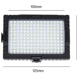 Накамерный светодиодный LED свет FALCONEYES DV-160V Индекс цветопередачи CRI95 160 led  для Canon Nikon