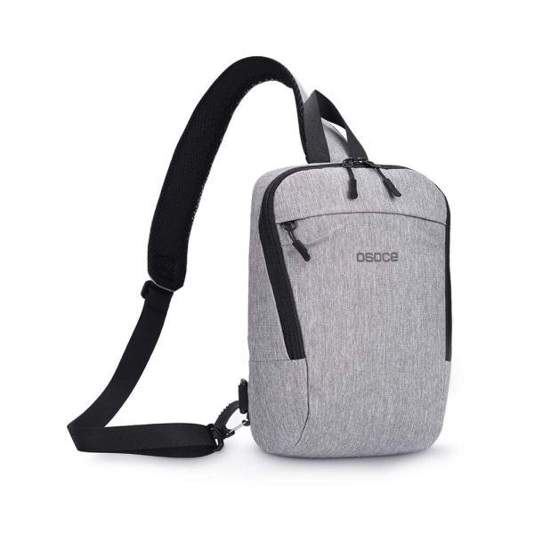 Слинг сумка через плечо Osoce B19 Серый