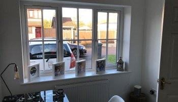 Warrington Garage Conversion Office