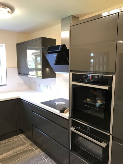 Single Garage Conversion in Radcliffe Kitchen