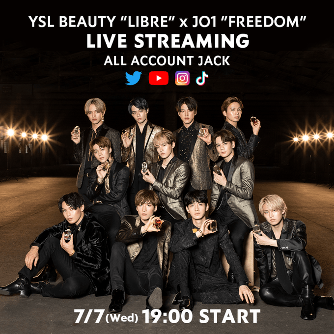 7/7(wed)19:00~YSL × JO1 STREAMING LIVEの感想