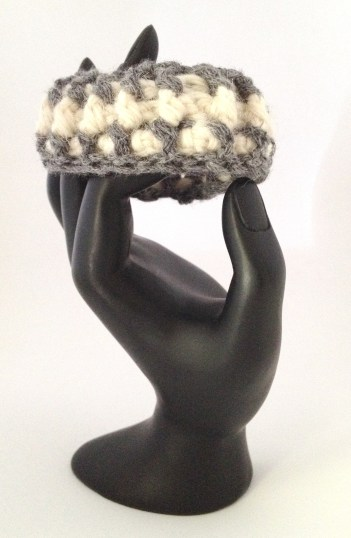 bracciale crochet lana 3