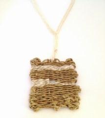 necklace textile