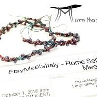 Etsysellers ci vediamo a Roma per EtsyMeetsItaly!