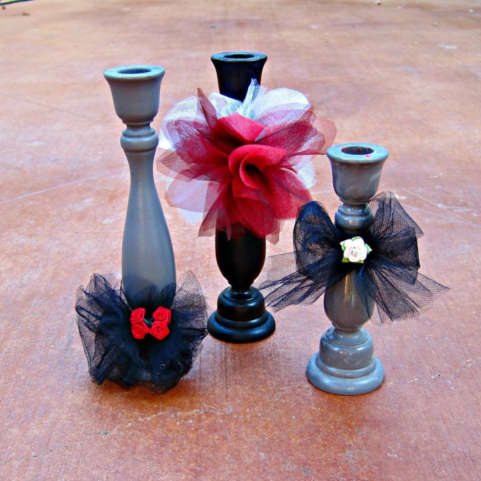 tulle-candlesticks