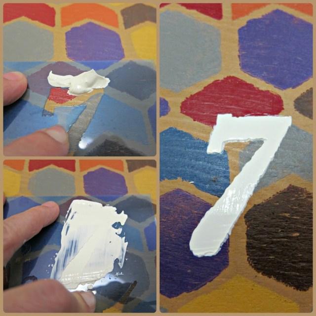 Stencil-Number-Paste