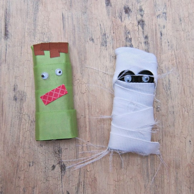 Turn candy bars into fun monster themed treats!  Easy to make projects.