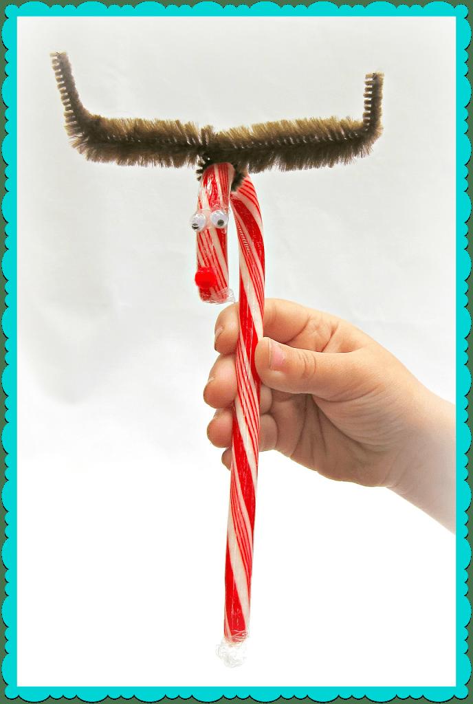 DIY Reindeer Candy Cane Gifts - Morena's Corner