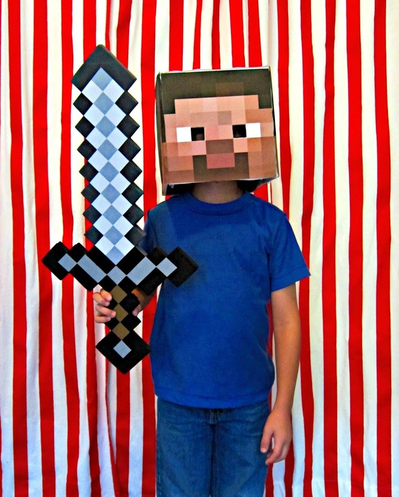 88 diy costumes including minecraft steve morenas corner costume site really awesome costumes to bring yall tons of easy ideas to craft up diy costumes for everyone including your pets family costumes solutioingenieria Gallery