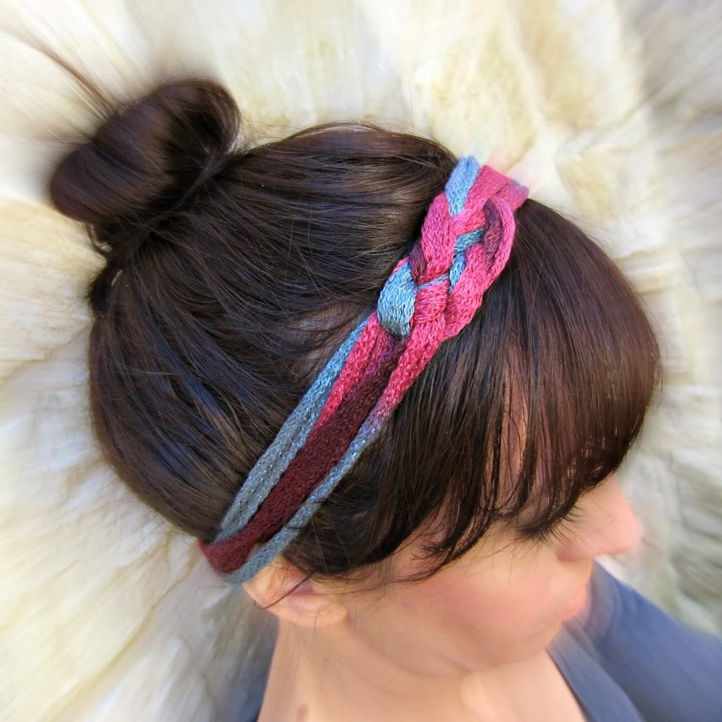 Diy Looped Yarn Headband