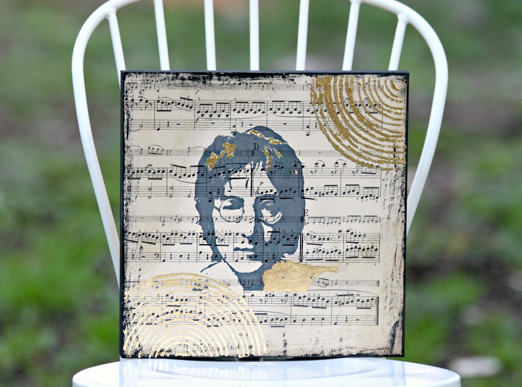 Trend Make music wall art using sheet music and your favorite artist