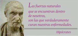 Hipócrates padre de la medicina es precursor de la medicina naturista. Un buen medico naturista