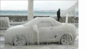 ice storm car