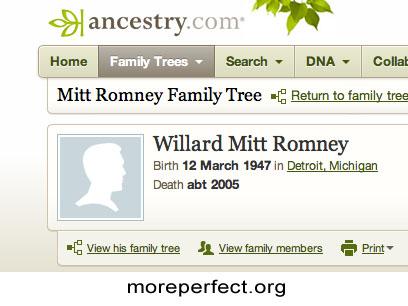 Mitt Romney Died in 2005!