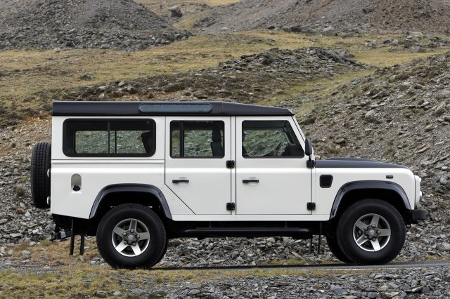land rover Defende ICe