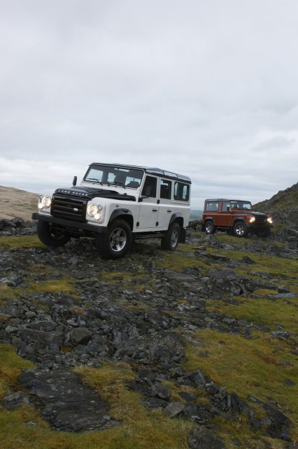 Land Rover Defender ICE FIRE