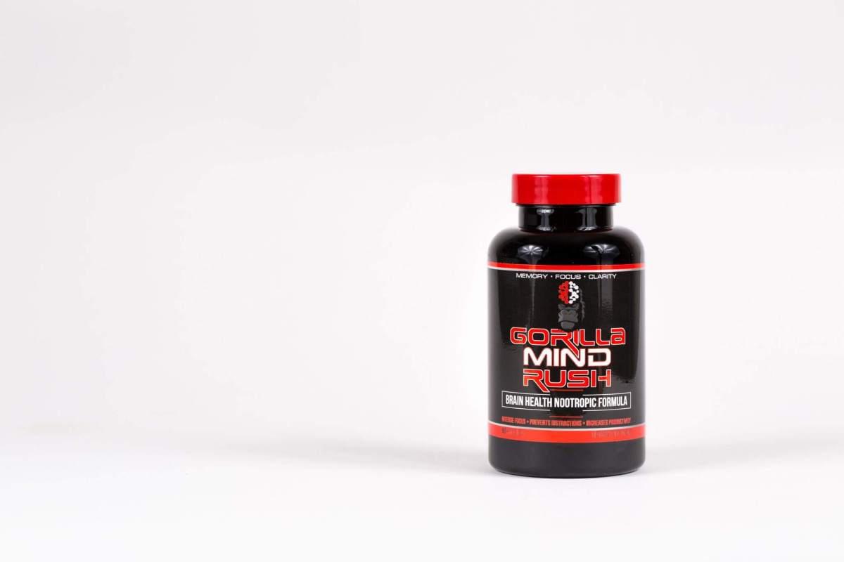 Gorilla Mind Rush bottle