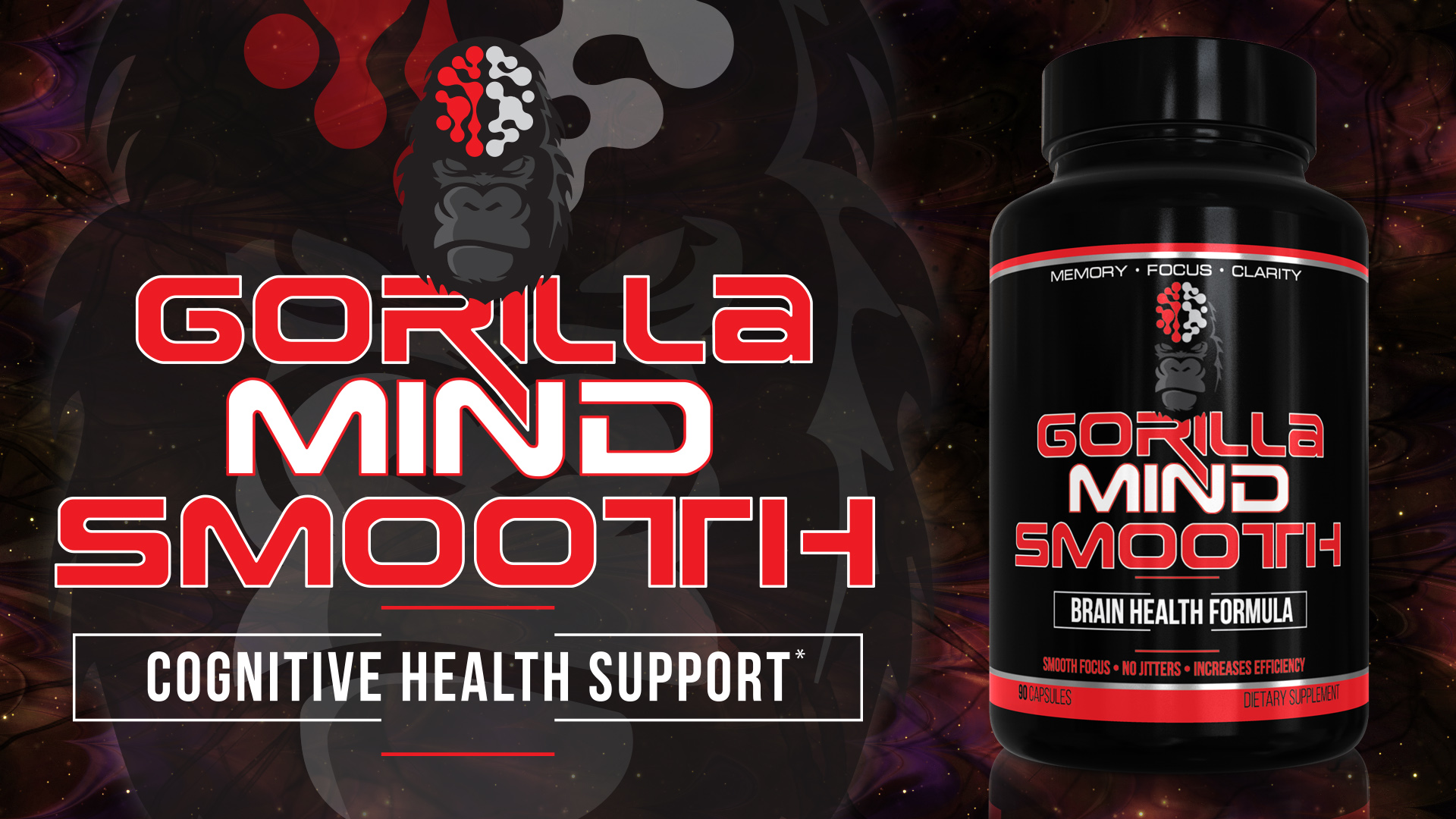 Gorilla Mind Smooth label and bottle