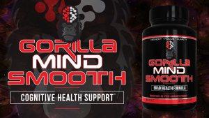 Gorilla Mind Smooth label and bottle