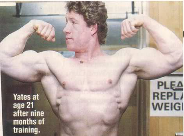 Dorian Yates 21 Years Old