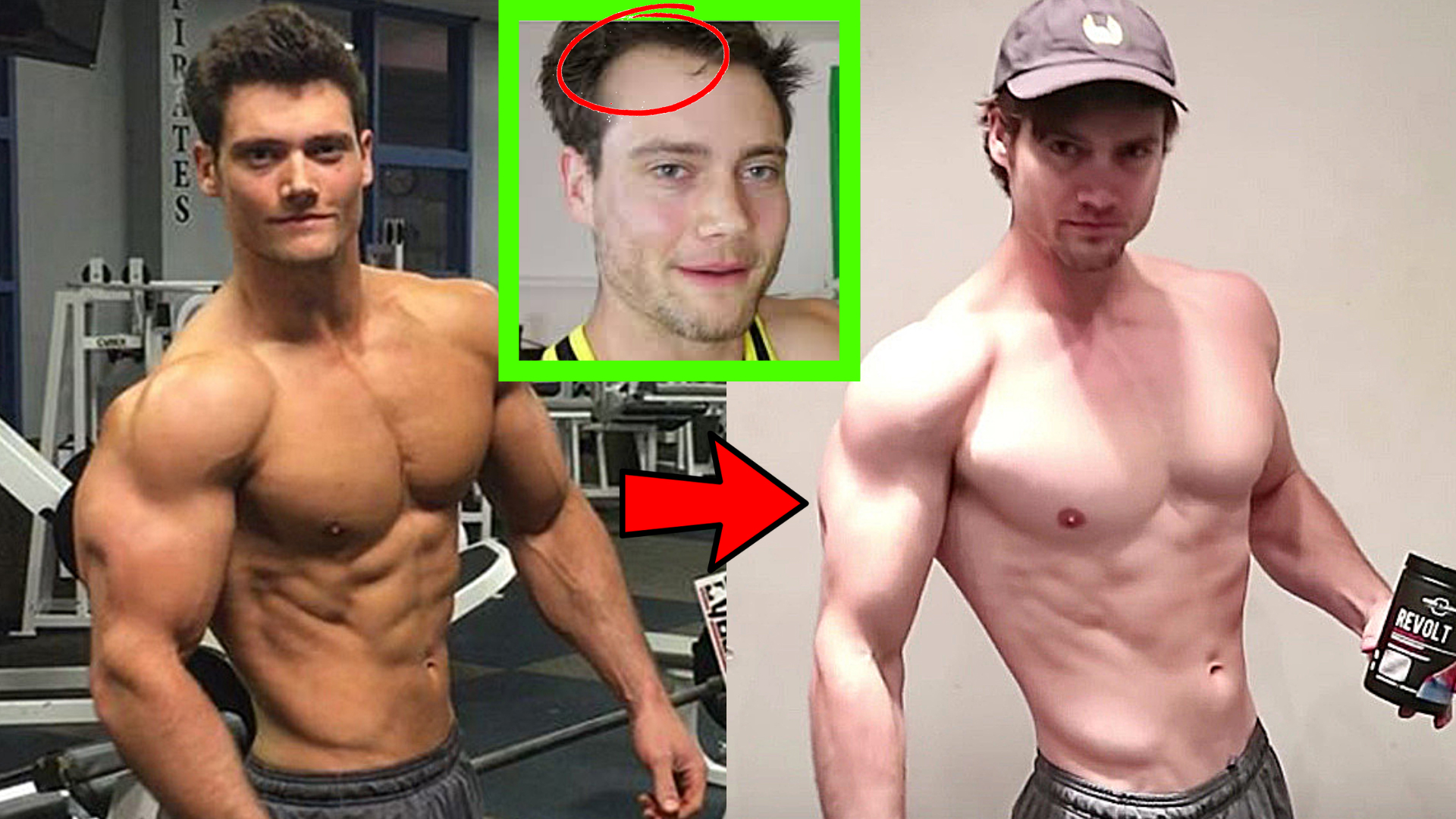 Connor Murphy Before And After Muscle Loss