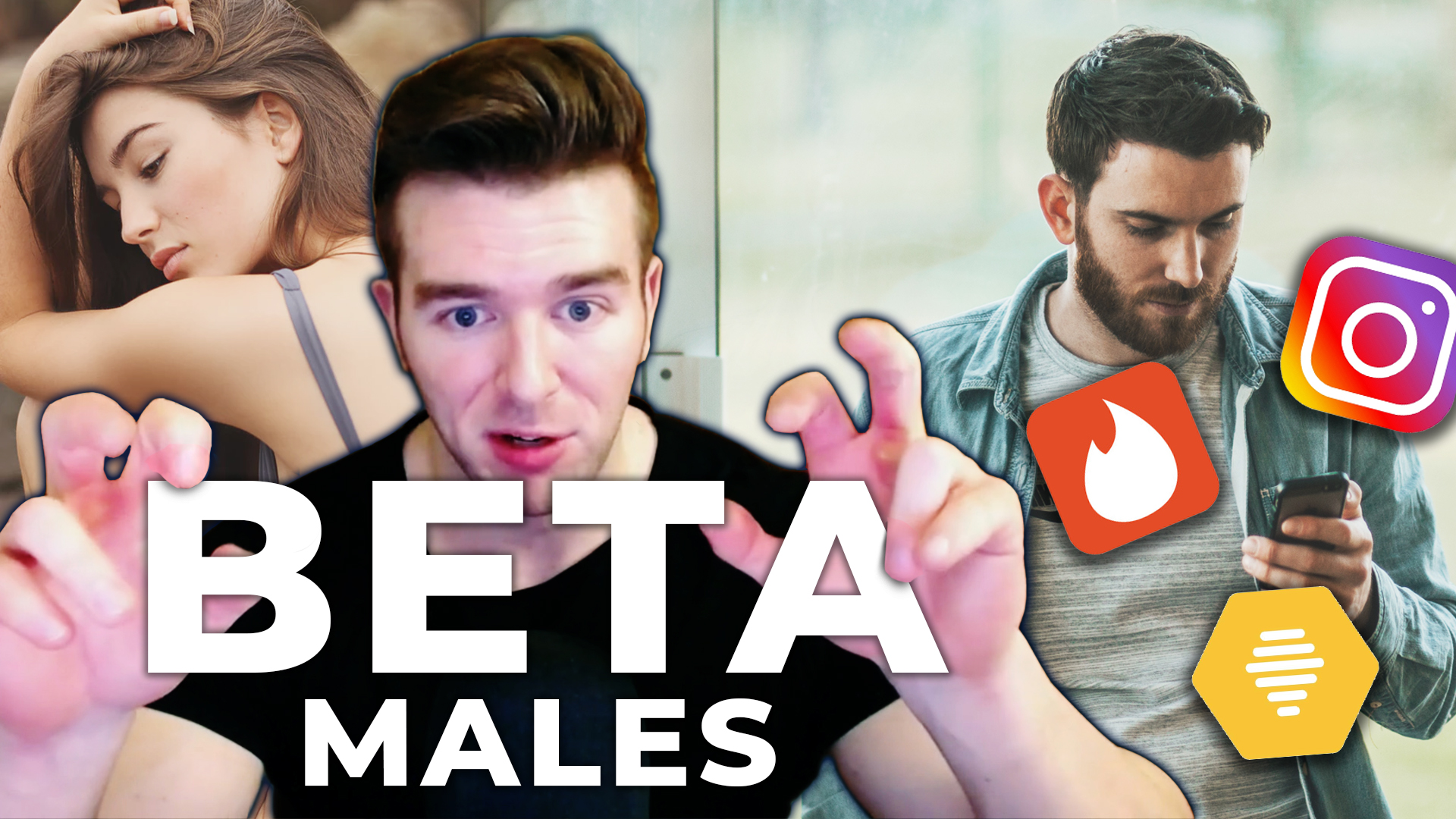 Beta Males - The Reason Why There's Less Competition Than Ever In The Dating Pool