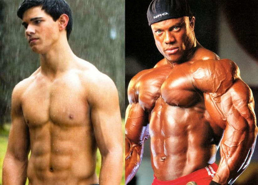 Taylor Lautner Vs Phil Heath