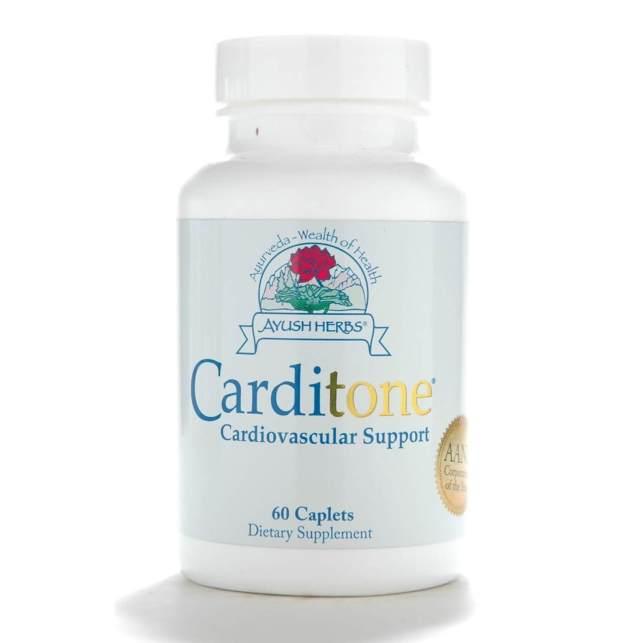 Bottle of Ayush Herbs Carditone