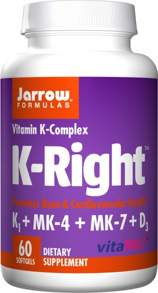 Bottle of Jarrow Formulas K-Right
