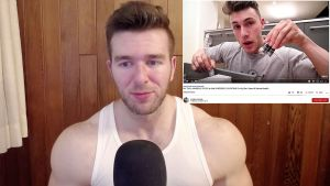 Derek from More Plates More Dates watches and reacts to Brandon Harding's Steroid Cycle Reveal Video On YouTube