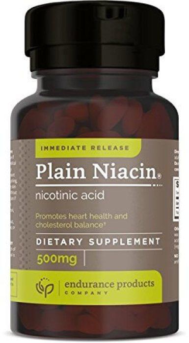 Bottle of Immediate Release Nicotinic Acid