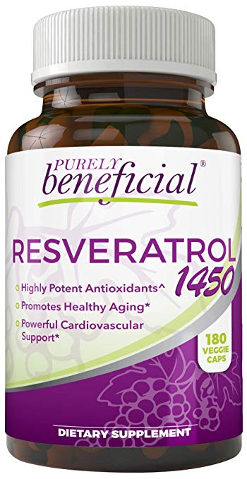 Resveratrol Bottle