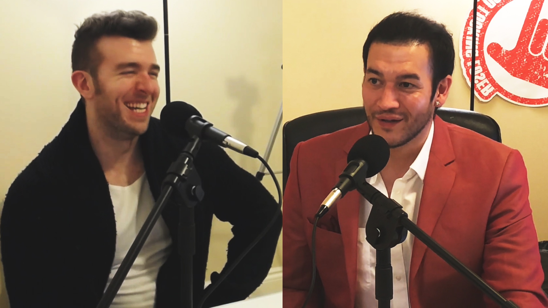 Derek from MorePlatesMoreDates.com and Chris Deoudes from Good Looking Loser talking on MPMD podcast episode #4