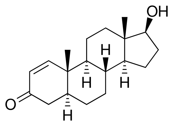 DHB (Dihydroboldenone) Chemical Structure