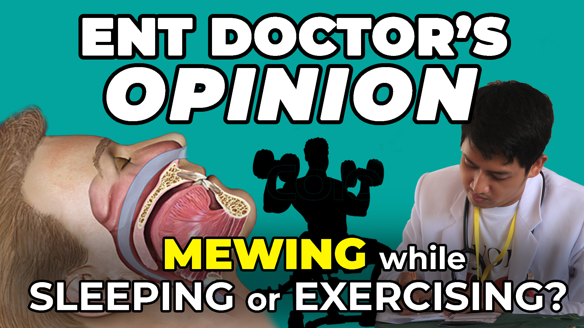Mewing While Exercising And Sleeping | Is It Necessary? | ENT Doctor's Opinion