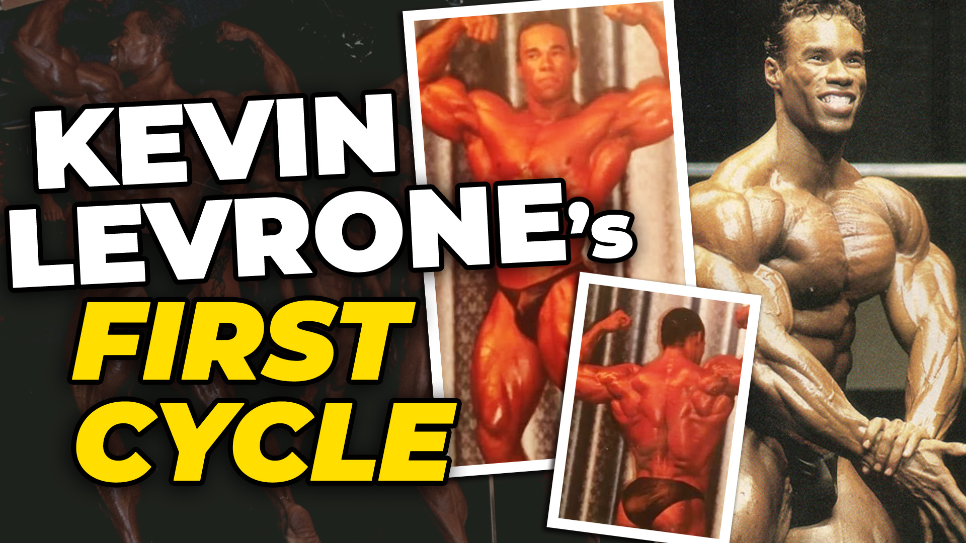 Kevin Levrone Before And After His First Two Steroid Cycles