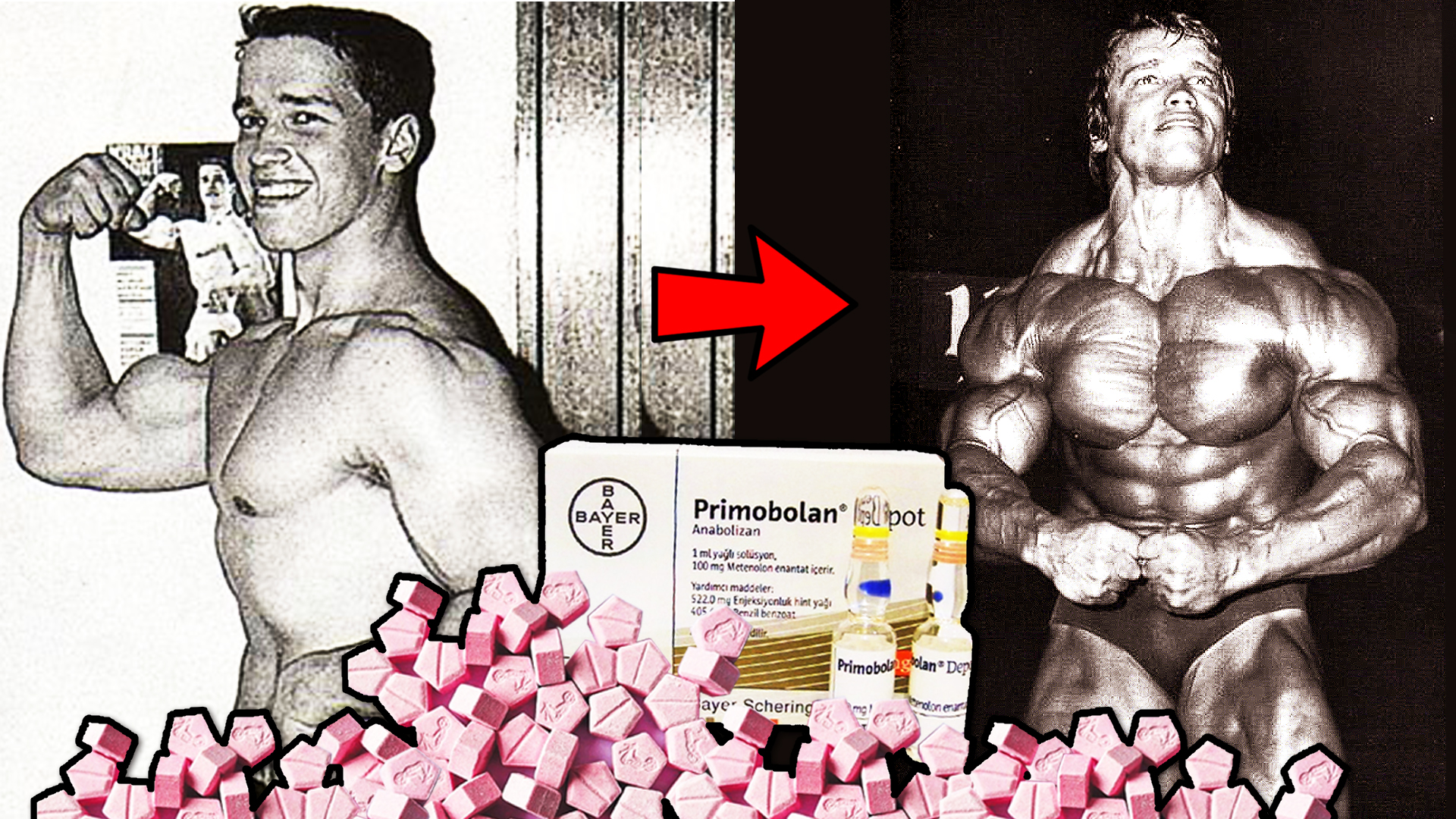 Arnold Schwarzenegger's Steroid Cycle - Dbol And Primobolan