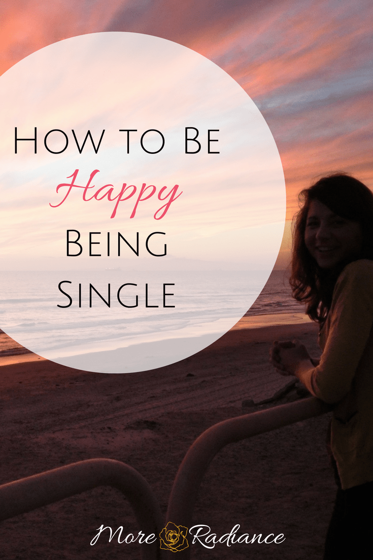 How to be happy being single