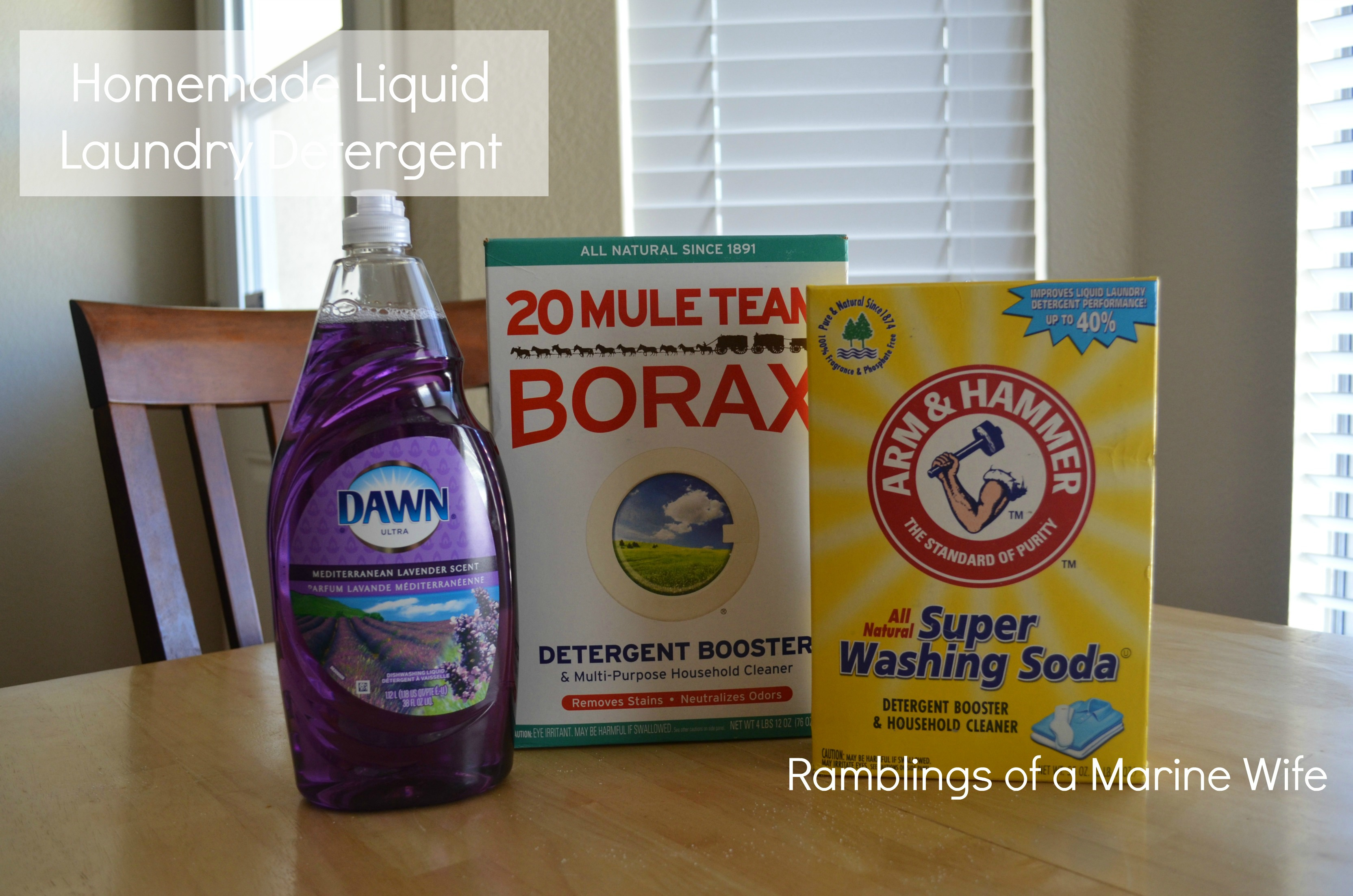 Thrifty thursday homemade laundry detergent nothing but room she made powder and liquid detergent this is her favorite detergent recipe and i made it myself homemade liquid laundry detergent solutioingenieria Image collections