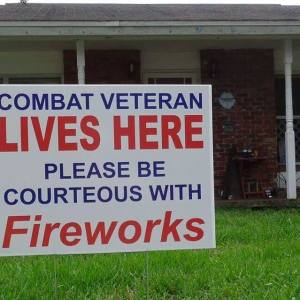 Veterans and Fireworks Don't Always Mix
