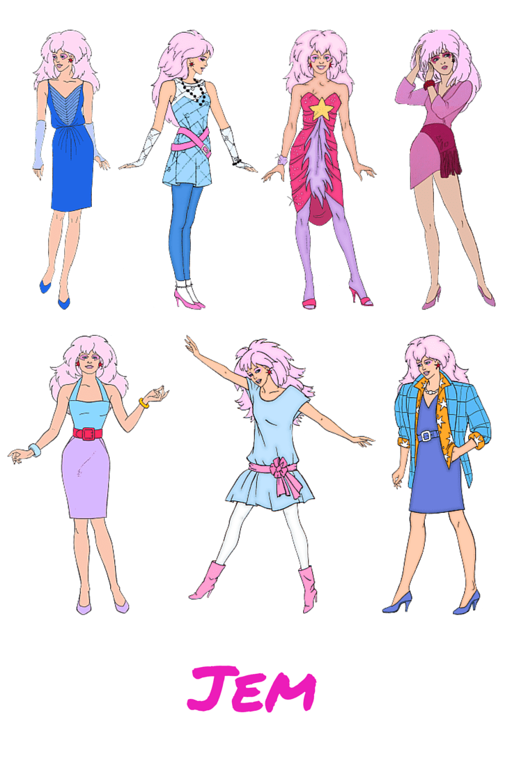 Friday Faves Jem And The Holograms Nothing But Room